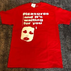 be454540c ASOS men's crop pant Pleasures Red T-shirt ...